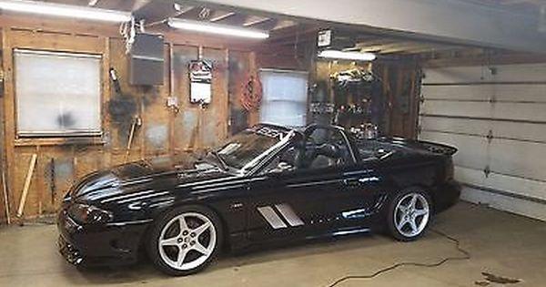 1996 Ford Mustang Saleen S281 Ford Mustang Saleen Saleen Mustang Mustang Convertible