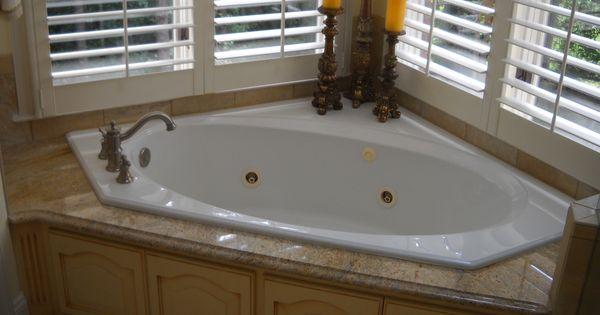 Garden tub master bathroom renovation pinterest for Home and garden bathrooms