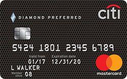 Citi Sup Sup Diamond Preferred Sup Sup Card 21 Month