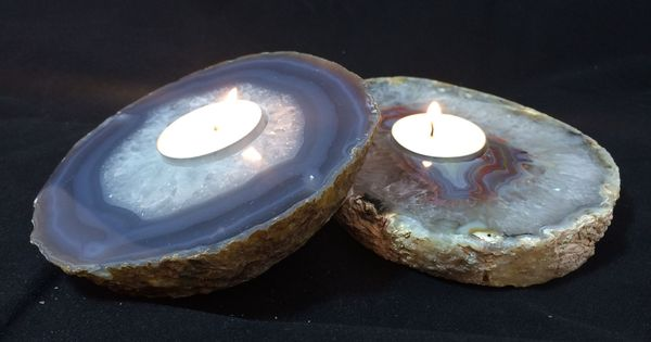 Agate Tealight Candle Holder Home Decor Pinterest Home Wedding