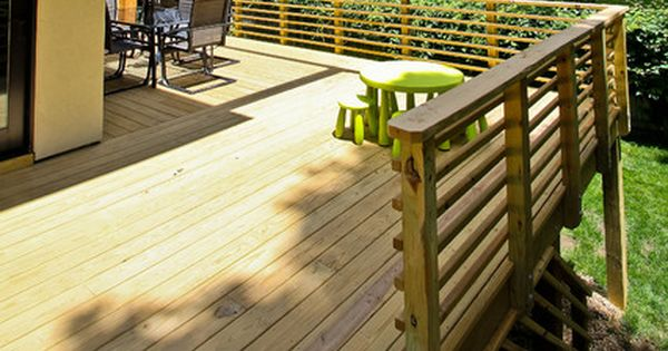 Horizontal Deck Railing Designs Wood Check out wood