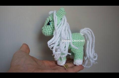 Pequeno Pony Amigurumi Patron : Pequeno pony amigurumi con tutorial PatronesMil ...