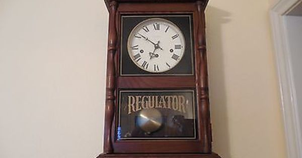 Hamilton Regulator Wall Clock With Westminister Chimes