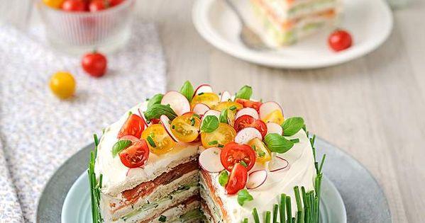 La única tarta sandwich bonita y apetecible que he visto en mi