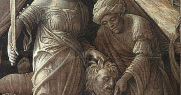 Andrea Mantegna's Paintings. Painting: Judith and ...