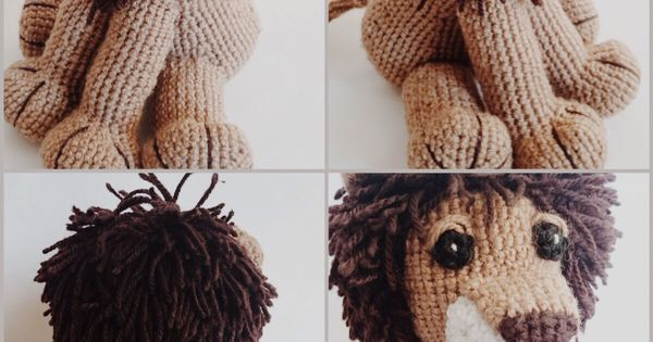 Amigurumi Bigfoot Lion : Crochet lion amigurumi Pattern (Free) - Lion, Amigurumi ...