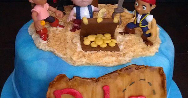 Jake and the Neverland Pirates Cake - Birthday Ideas
