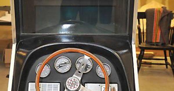Vintage arcade game monaco grand prix