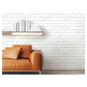 Textured Brick Peel Stick Wallpaper White Threshold Best Removable Wallpaper Textured Brick Wallpaper Peel And Stick Wallpaper