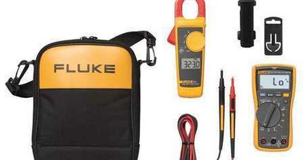 Fluke Fluke 117 323 Wwg Multimeter And Clampmeter Kit Multimeter Combo Kit Clamp
