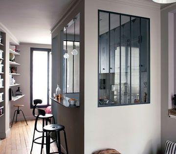 Verri re s paration atelier studios et kitchenettes la for Separation verriere atelier