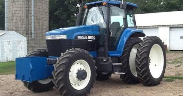 1996 New Holland Tractor : New holland tractor http