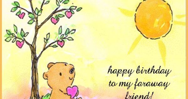 Birthday Quotes For A Friend Miles Away : Happy birthday friend quotes google search