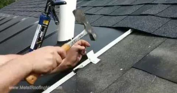 Install Metal Roof Ice Belt Panels To Prevent Ice Dams By Leo At Metalroofingma Com Metal Roof Ice Dams Roof