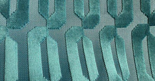 Les plus beaux tissus bleu canard d coration achats et d co - Les plus beaux tissus ...