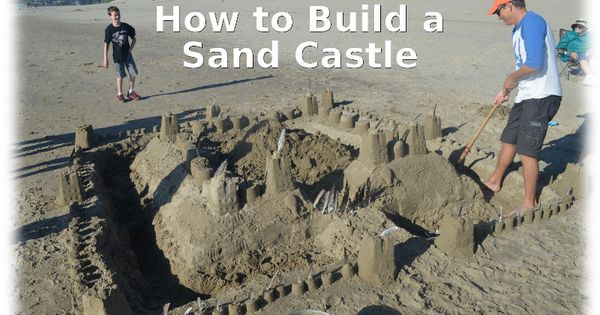How to build a sand castle for How to build a blog