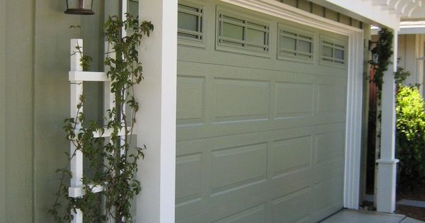Garage Door Arbor great way to increase curb appeal is with an