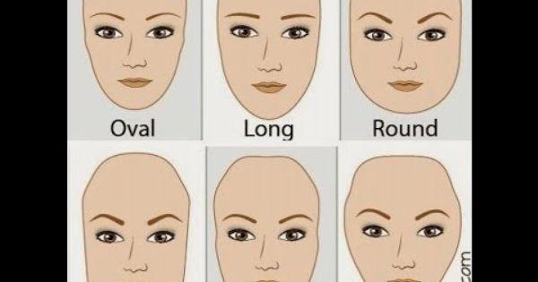 كيف تختارين شكل الحواجب المناسب للوجه البيضاوي الطويل مربع دائري او على شكل قلب كيف تختارين شكل الحواجب المناسب للوجه Eyebrow Shaping Face Shapes Eyebrow Hacks