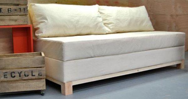 Como hacer un sillon o sofa cama con baul paso a paso for Sillon cama pequeno