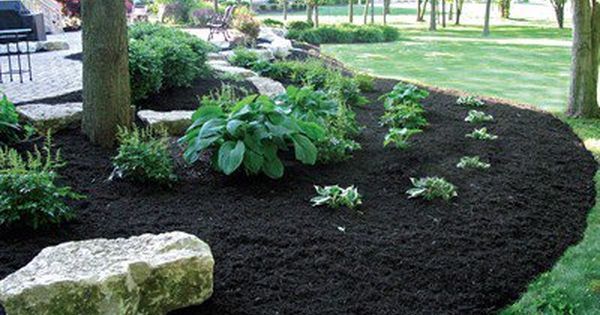 Pin By Stonecore On Stonecore Garden Nursery Mulch Landscaping Backyard Flowers Beds Backyard Flowers