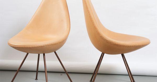 1stdibs com arne jacobsen the quot drop quot chair designboard