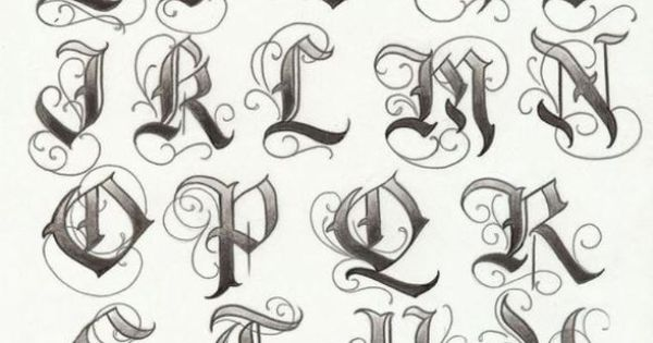 Lettering tattoo fonts 07 idea letters to fix my knuckles for Knuckle tattoo font