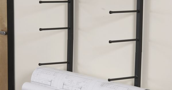 Vis I Rack For Large Rolled Documents Such As Blueprints