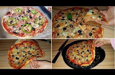 الملعقة السرية اللي أخفاها عنكم مطاعم البيتزا بدون حليب مجفف و لا حليب ولا زبدة خطييرة Youtube Savory Appetizer Finger Foods Food