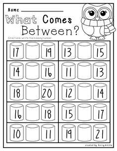 Kindergarten No Prep Winter Math And Literacy Kindergarten Math Worksheets Kindergarten Math Winter Math