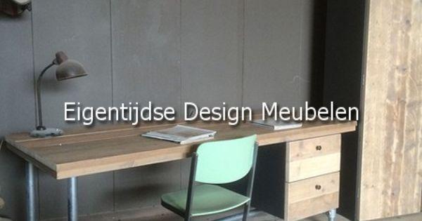 Steigerbuis bureau verkrijgbaar bij eigentijdse design meubelen house scaffolding pinterest - Eigentijdse meubelen ...