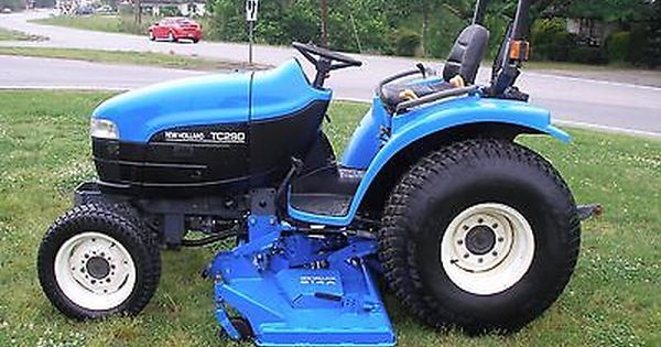 Nice New Holland Tc29d 4x4 Tractor With Super Steer New Holland