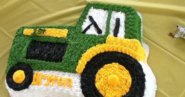 Фото тортов в виде трактора