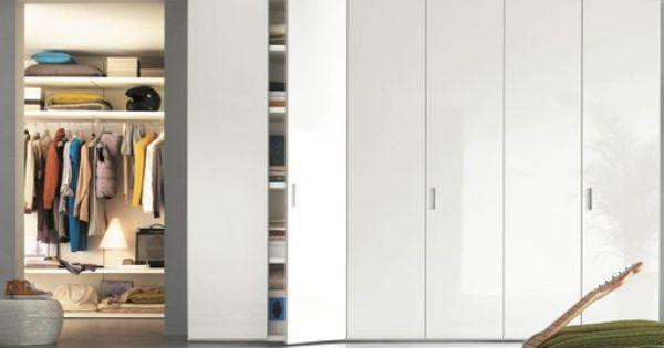 Interno Italiano Nex Tall Cabinet Storage Wardrobe Cabinets Furniture