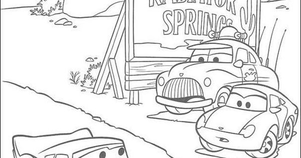 Cars 2 Printable Coloring Pages  Krafty Kidz Center Cars 2 Movie