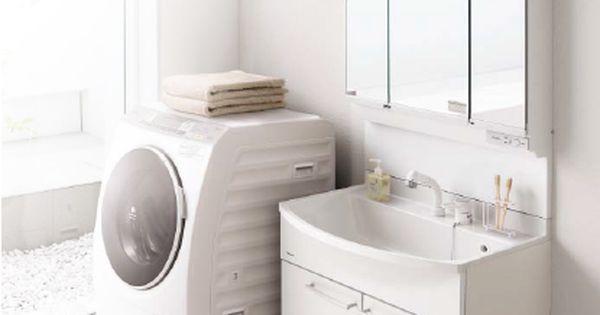 パナソニック エムライン 750幅タイプ シャワー水栓 1面鏡くもり