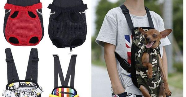 Dog Carrier Front Pouch Chest Backpack Cat Puppy Pet Sling
