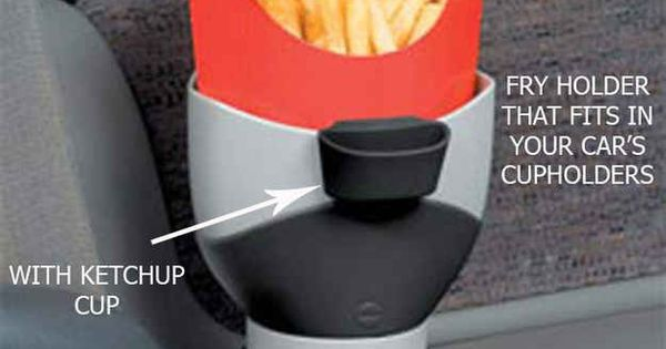 Car French Fry Holder | 30 Things You Had No Idea You