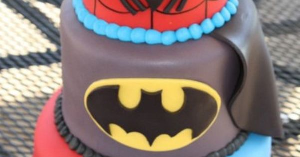What a super, Super Hero cake!