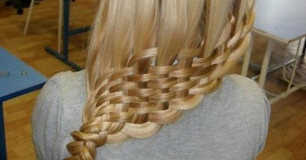 blonde hair weaved into braid - Hairstyles and Beauty Tips