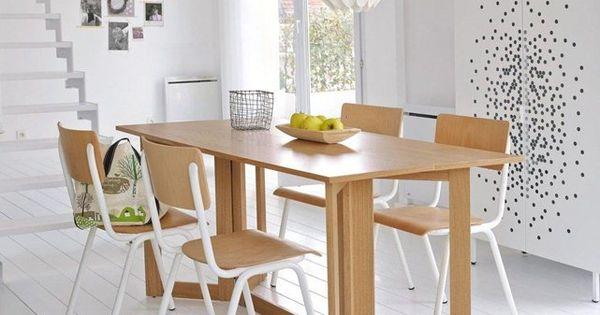 Table console 6 personnes meeting la redoute interieurs for Table et chaise gain de place
