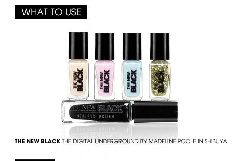 Learn How: The Blogger Look with The New Black Digital Underground set