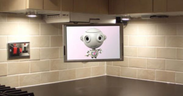 Kitchen Cabinet With Tv