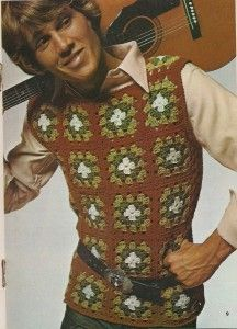 Men S Vintage Crochet Fashion Crochet Fashion Vintage Crochet Crochet
