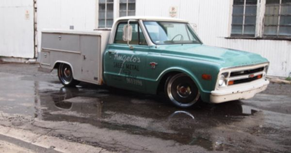 Angelo After Delmo Work Truck Chevrolet Cool Trucks