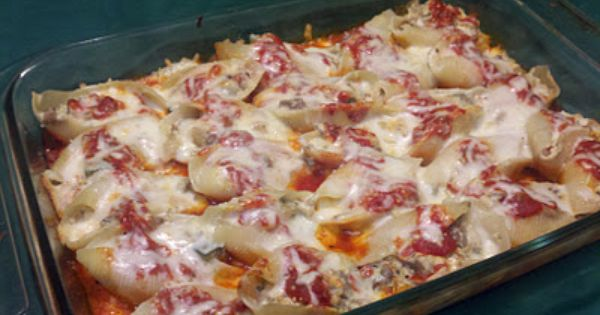 Ratatouille, Ricotta and Ricotta stuffed shells on Pinterest