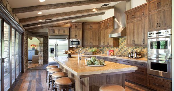 Beautiful residential kitchen featuring custom concrete for Kitchen design tucson