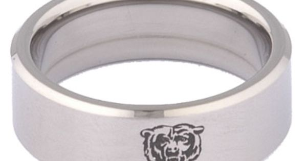 Security Jewelers Chicago Bears Wedding Bear Wedding Engagement Rings For Men