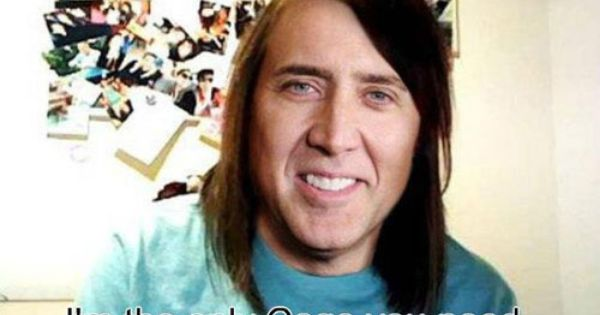 Overly Attached Nicolas Cage