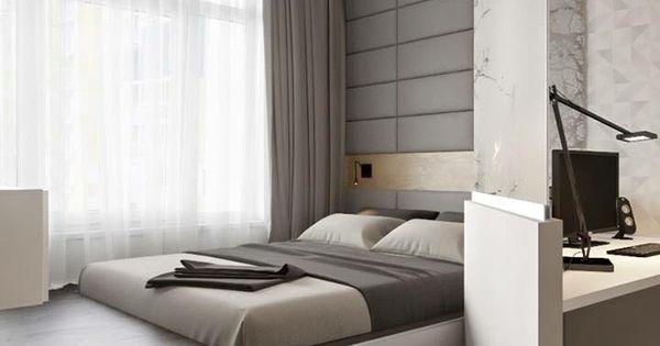 Une chambre minimaliste et contemporaine www m for Habitat minimaliste