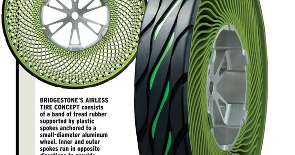 Bridgestone airless tire concept
